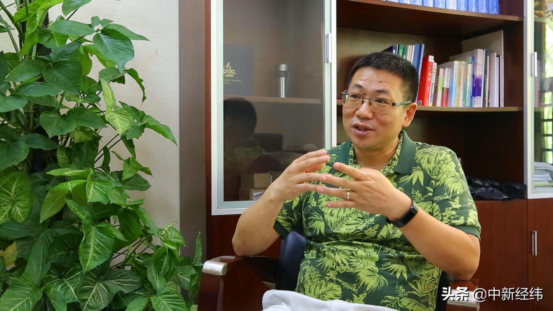 """""""民营企业与自由贸易港共同发展""""张洪"""