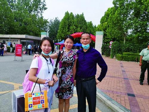 陈清洲女儿到中国人民公安大学报到 感谢各界多年关爱