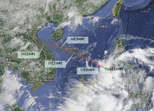 强风雨来袭!南海热带低压16日前后生成 海南5市县降雨量可达250毫米