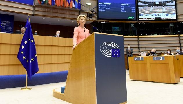 冯德莱恩发表欧盟年度国情咨文,称英国仍有无协议脱欧风险
