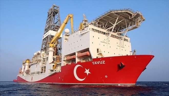 """土耳其将地中海东部钻井船""""亚乌兹""""的"""