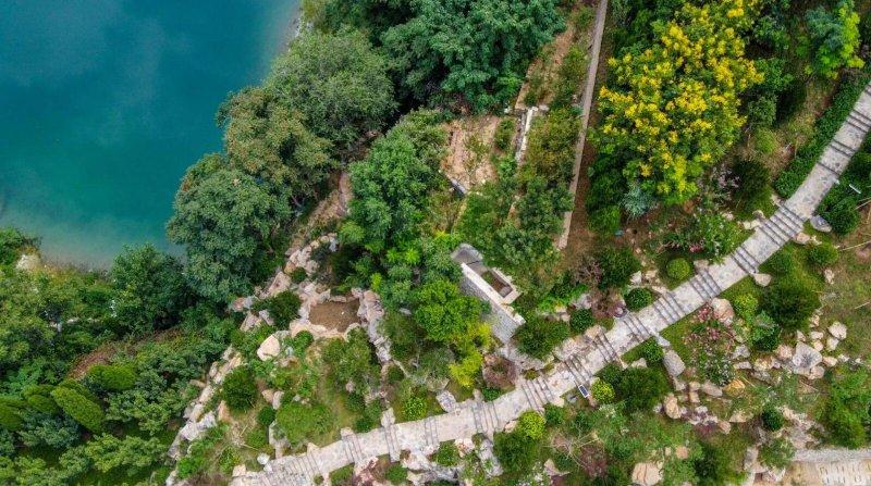 又添好去处!济南燕翅山西坡山体公园完成绿化改造近期开放