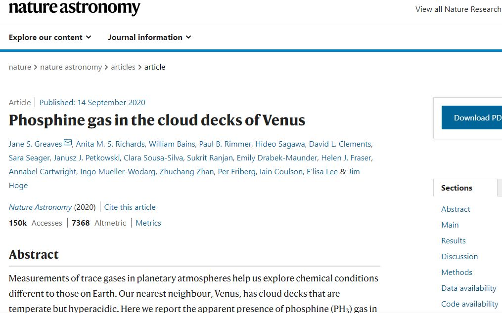 金星大气层探测到磷化氢 可能存在生命?天文专家详解图片