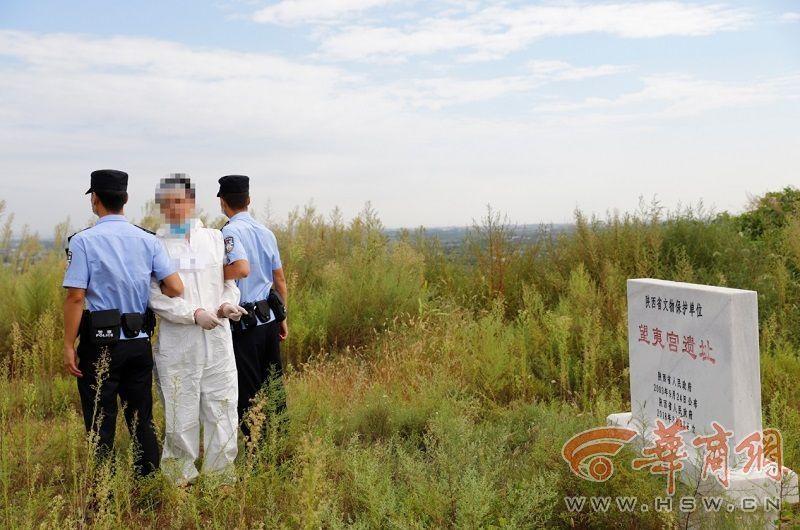 垃圾重复非法倾倒和建筑 秦汉新城警方摧毁了五个渣土车团伙