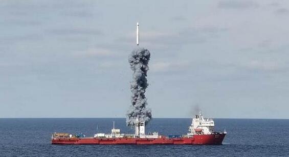 """海上升""""利箭""""!三大优势保障卫星发射成功图片"""