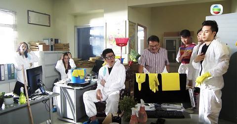 TVB热播剧现14秒乱港手势 观众罢看导演被解雇图片