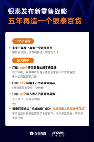 杭州市商务局发布首批新零售企业 银泰百货旗下9店上榜图片
