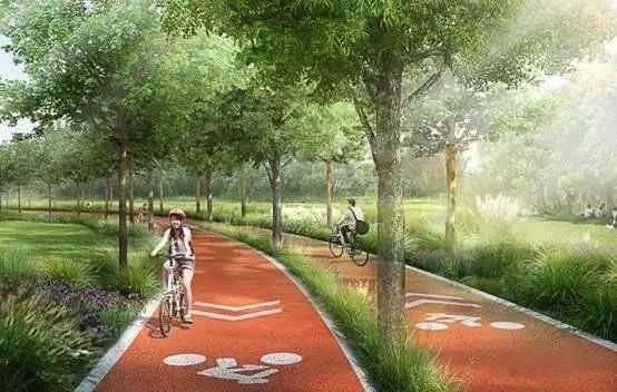 太原滨河自行车专用道已开工 已有路段预计20日摊铺沥青