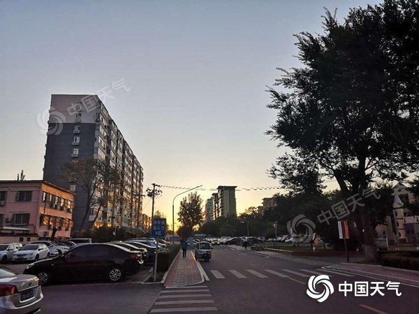 """注意防风 今日北京阵风6至7级 未来三天晴天""""唱主调"""""""