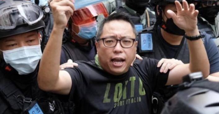 """""""港独""""组织""""人民力量""""副主席谭得志申请保释再被拒"""