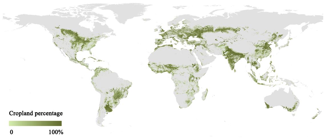 全球耕地有多少?我国科学家研发新一代全球高精度耕地分布制图图片