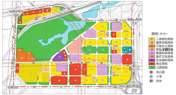 南宁富宁片区规划获批 江南公园片区将新增多所学校