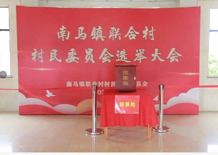 南马镇圆满完成村委会换届 112名村委会成员走马上任