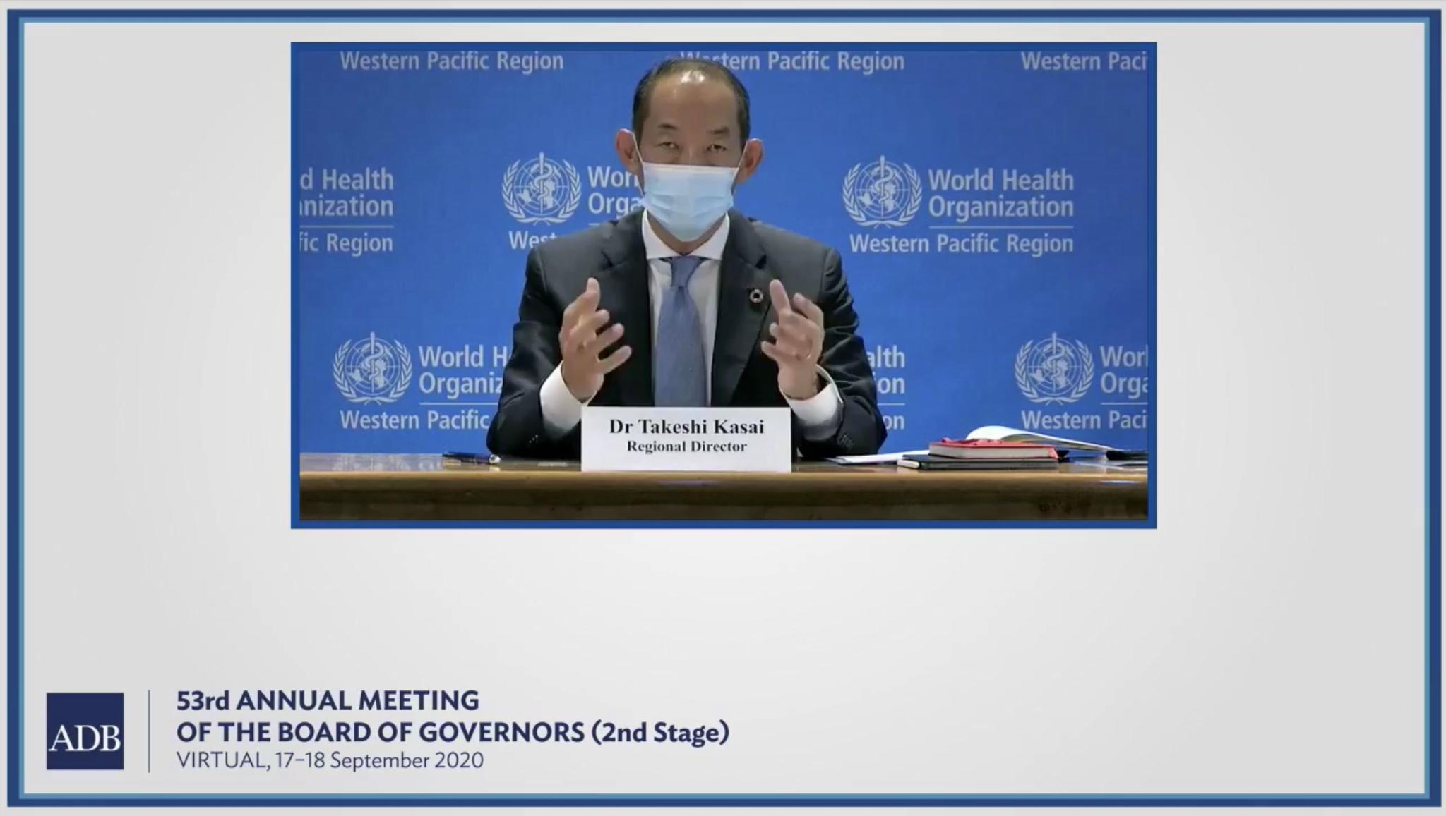 亚太地区卫生和财政部长参加联合会议 探讨全民健康覆盖重要性