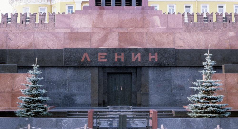 列宁墓 图自俄罗斯卫星网