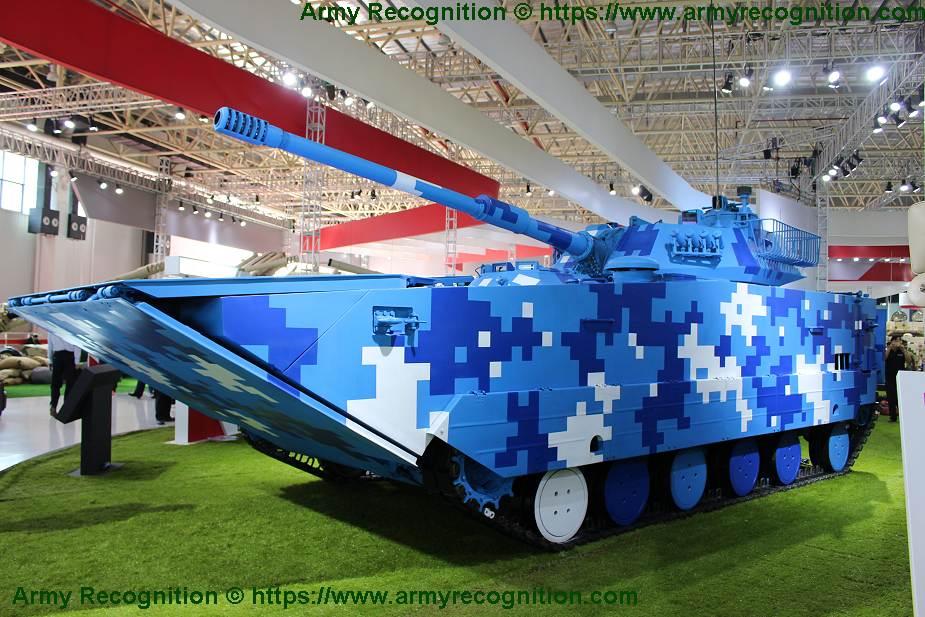 泰国选定中国VN16两栖坦克作主力装备 将部署在071型登陆舰上