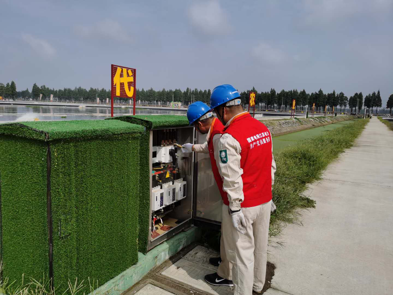 南京高淳:暖心供电 服务螃蟹产业20年图片