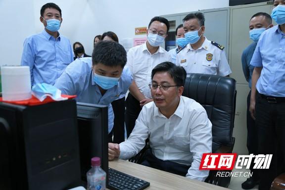双节来临,湖南省应急管理厅暗访检查长沙市安全生产工作