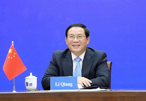 上海与这座德国友城结好将满35周年,李强与汉堡市市长视频连线