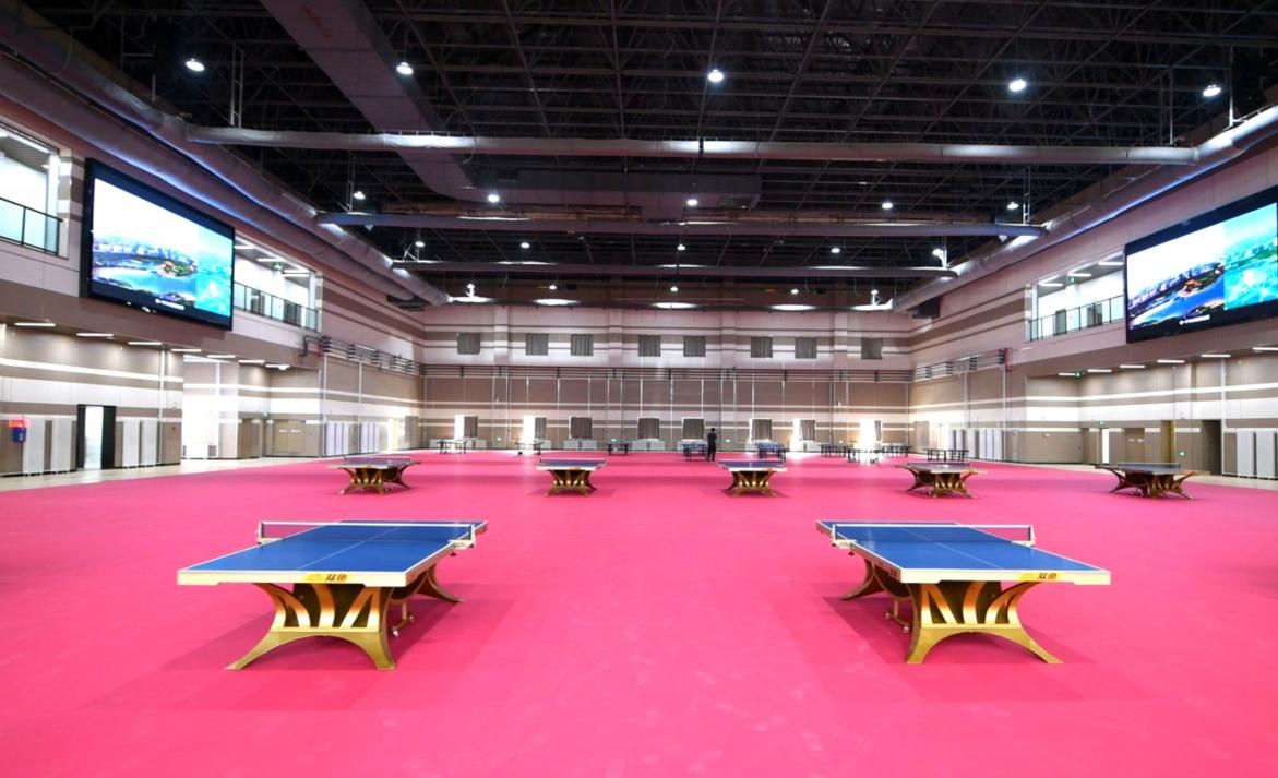 中国乒乓球协会训练基地、青少年培训基地在威海揭牌