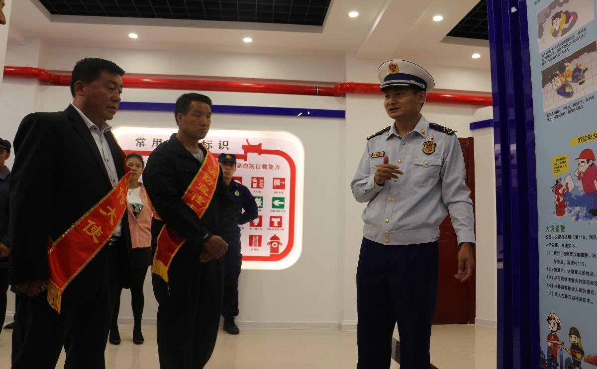 """银川市首个乡村应急消防科普教育基地""""亮相""""永宁"""