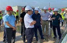 城投集团领导到马山镇农村新型社区安置房项目现场调研