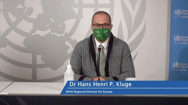 世卫组织欧洲办事处:欧洲新冠病毒感染传播令人震惊