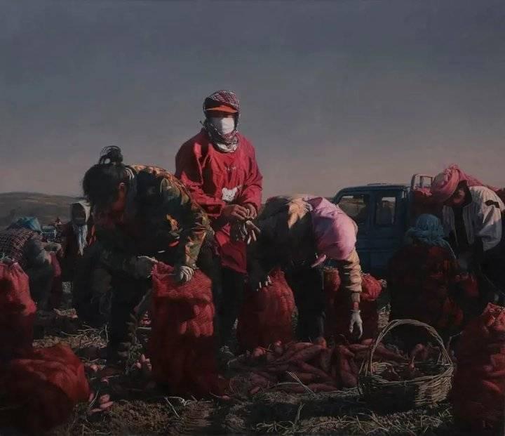 断面景观——山东青年油画展巡展至潍坊 正在潍坊市美术馆展出