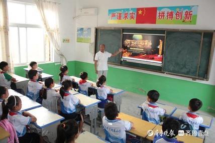 """曹县师范学校附属小学开展""""铭记历史勿忘国耻""""爱国主义教育活动"""