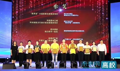 武汉理工大学在湖北省志愿服务大赛中再创佳绩