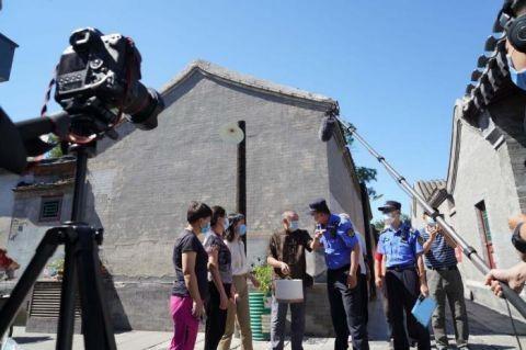 看北京 东城区城管执法局拍摄微电影《胡同城管》讲述垃圾分类的小故事