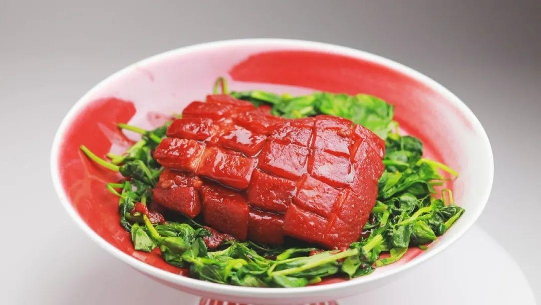 「养生厨房」今日菜品——《樱桃肉》