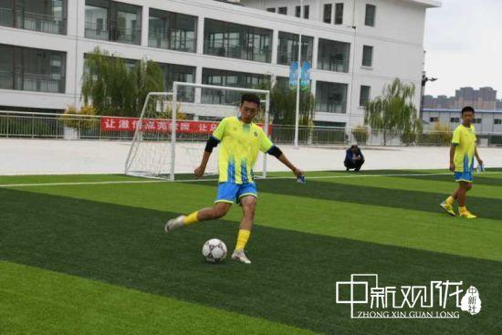 2020年甘肃省青少年校园足球夏令营在榆中县开营