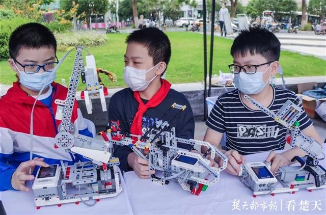 创意制作、编程实验、3D打印……江汉区2020年全国科普日活动好精彩!