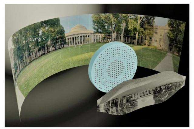 科学家开发用来制造薄型扁平鱼眼镜头的高科技材料