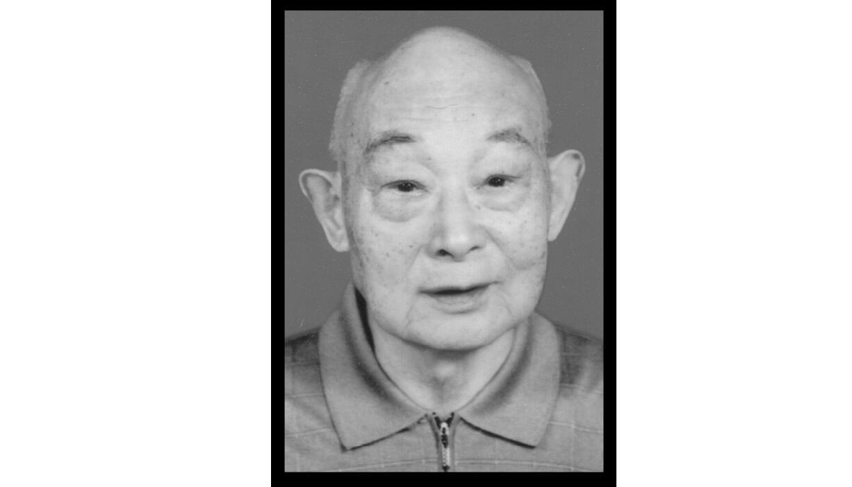 102岁老红军、原南京军区炮兵司令员何志聪逝世