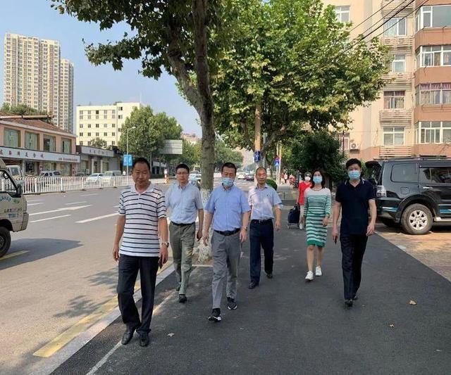 青岛市开展联合巡查 护航全国文明城市创建