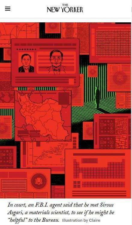 《纽约客》万字深度报道,揭开美国政府迫害伊朗科学家内幕
