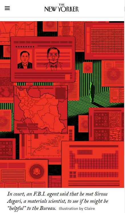 《纽约客》万字深度报道 揭开美国政府迫害伊朗科学家内幕