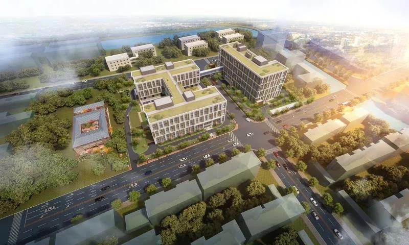 浦东这个镇规划新建养护院,总建筑面积超40000㎡!效果图已出炉