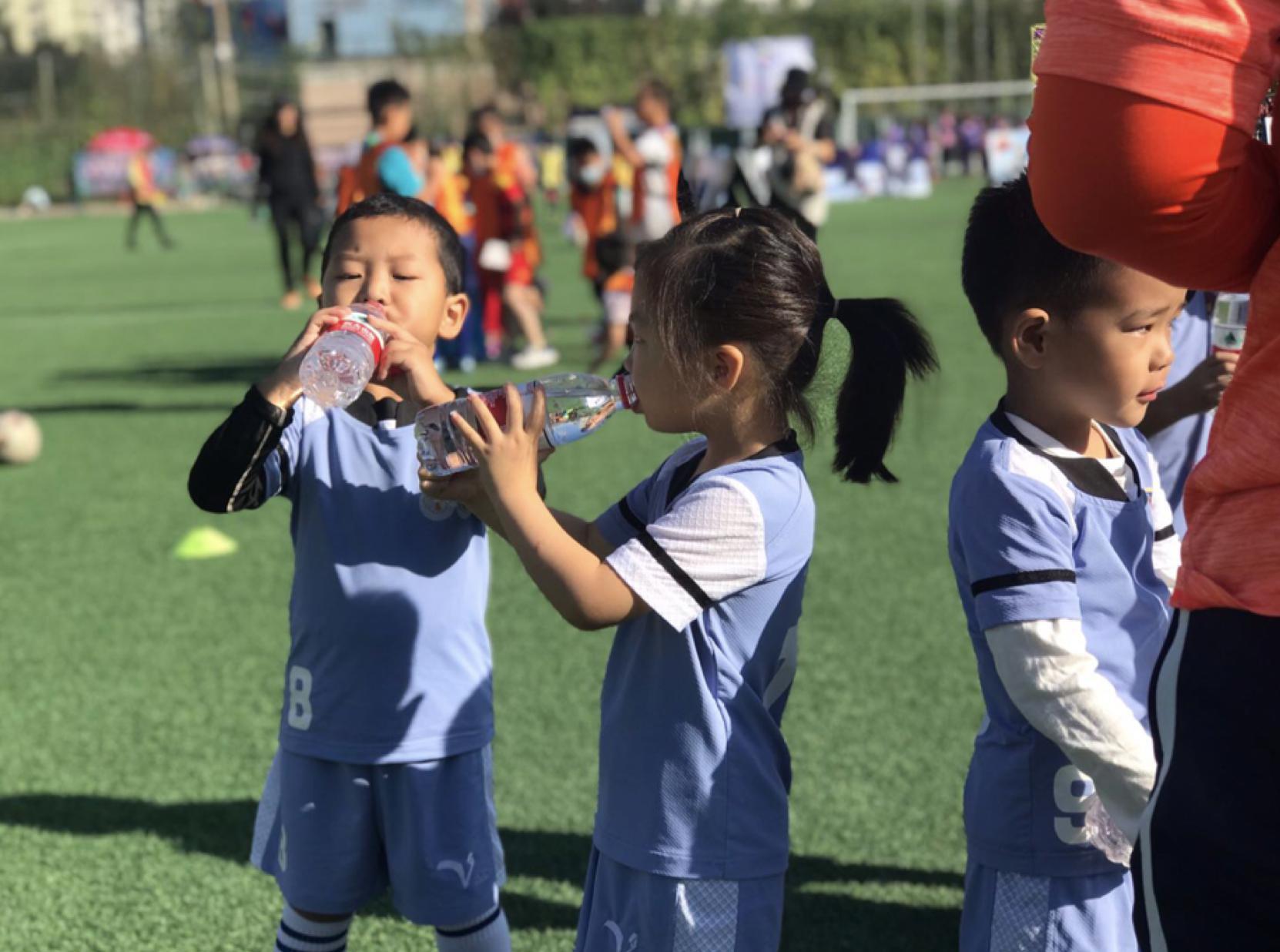 4岁小队员奔跑球场 丰台足协、卢沟桥教育集群举办足球嘉年华图片