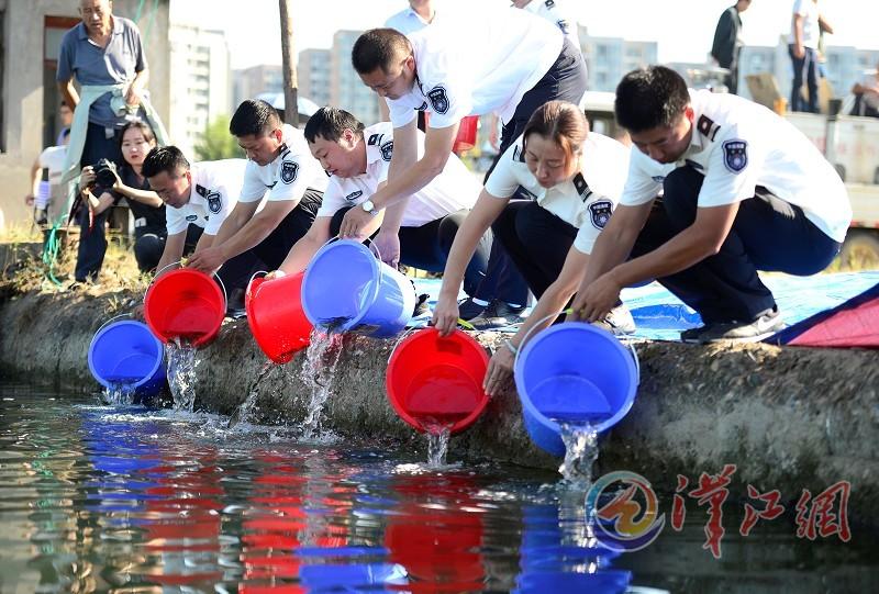 公益诉讼助力生态资源修复 142500尾鱼苗增殖放流汉江