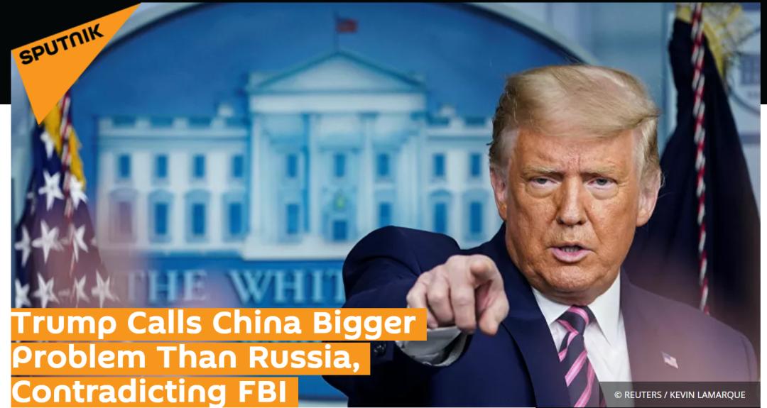这次,特朗普抹黑中国更直接了图片