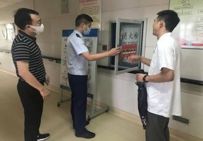 松江支队开展医疗机构消防安全专项检查