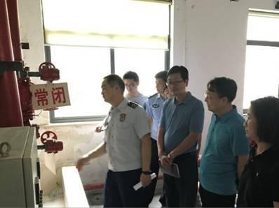 浦东支队开展不放心场所消防安全专项检查