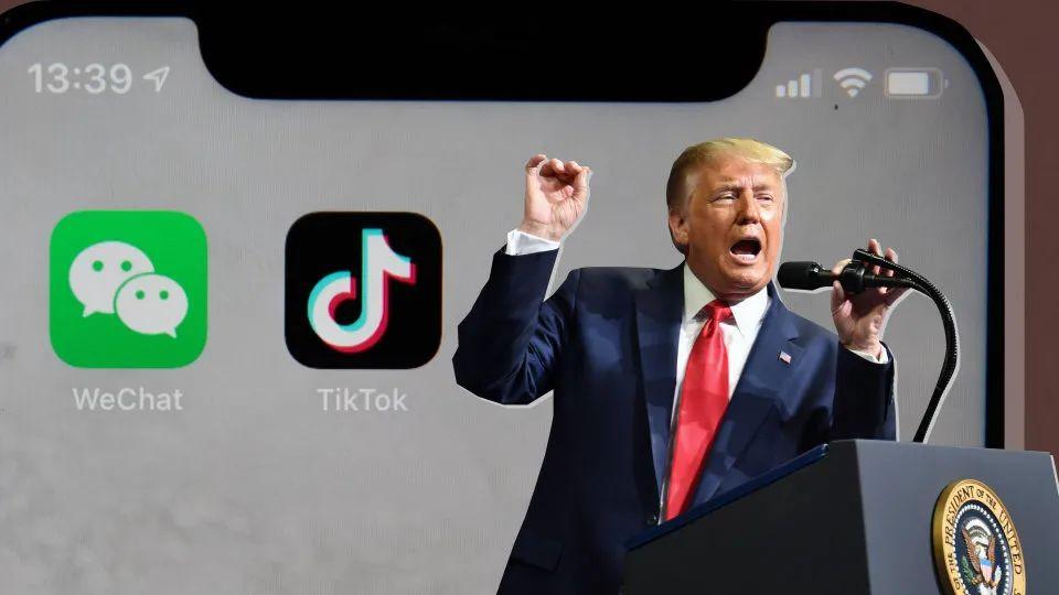 """禁令生效前,美国WeChat用户展开""""最后决战""""图片"""
