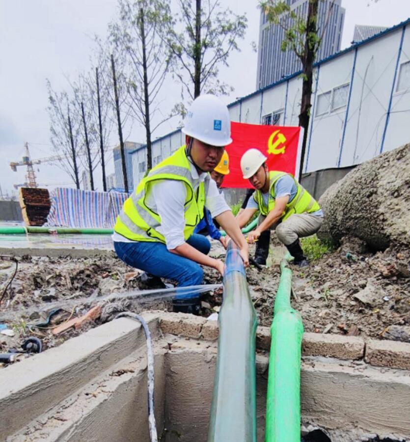 """中建科工有效应对台风""""黑格比"""" 保障人员安全"""