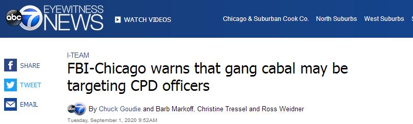 美国黑帮盯上警察:敢掏枪 就地枪杀
