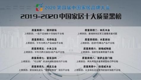 中国十大家居质量黑名单公布!无印良品