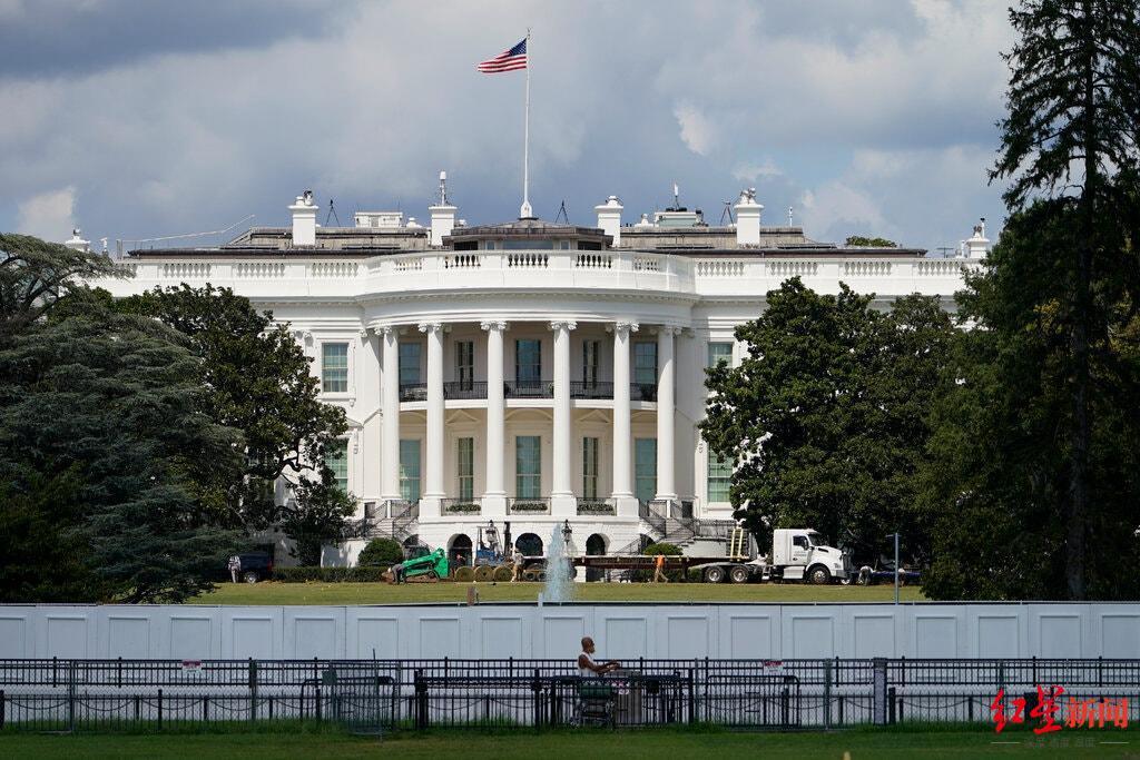 ↑美国白宫,图据纽约时报